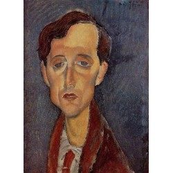 Frans Hellens by Amedeo Modigliani oil painting art gallery