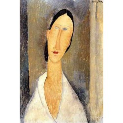Hanka Zborowska by Amedeo Modigliani oil painting art gallery