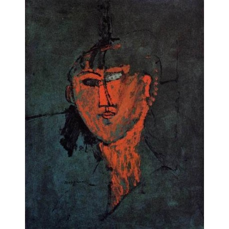 Head by Amedeo Modigliani