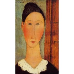Head Of A Girl by Amedeo Modigliani oil painting art gallery