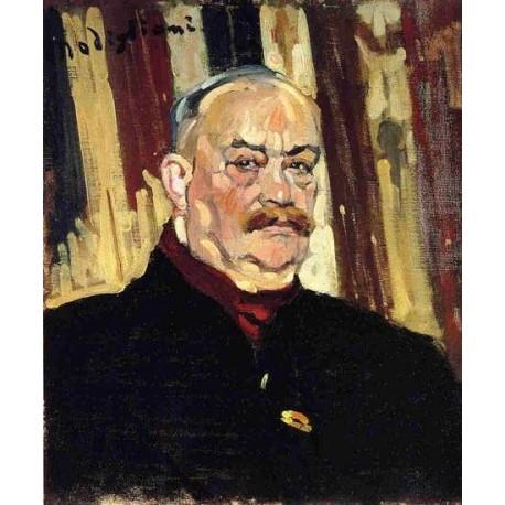 Joseph Levi by Amedeo Modigliani