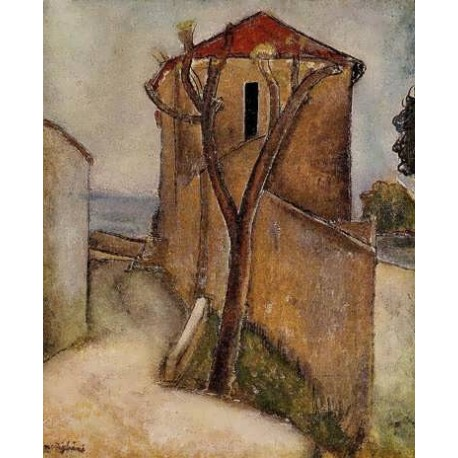 Landscape In The Midi by Amedeo Modigliani