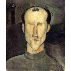 Leon Indenbaum by Amedeo Modigliani oil painting art gallery