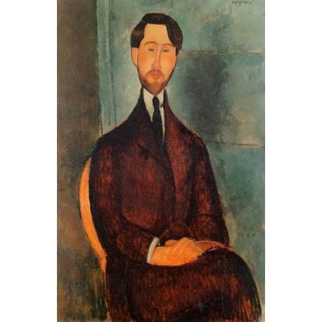 Leopold Zborowski by Amedeo Modigliani oil painting art gallery