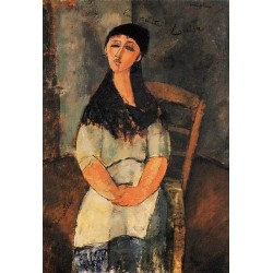 Little Louise by Amedeo Modigliani oil painting art gallery