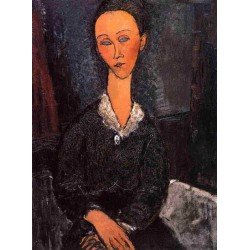 Lunia Czechowska by Amedeo Modigliani oil painting art gallery