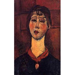 Madame Dorival by Amedeo Modigliani oil painting art gallery
