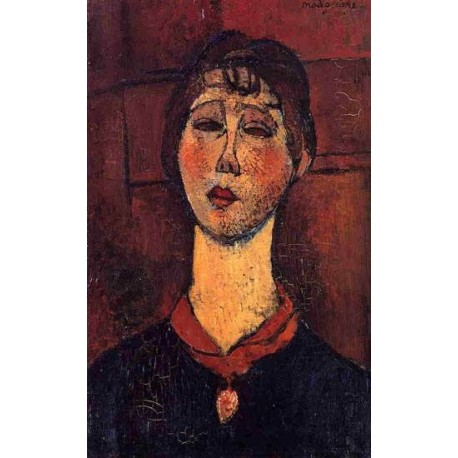 Madame Dorival by Amedeo Modigliani