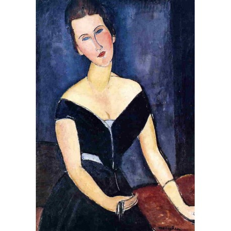 Madame Georges van Muyden by Amedeo Modigliani