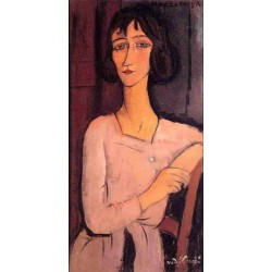 Marguerite Seated by Amedeo Modigliani oil painting art gallery