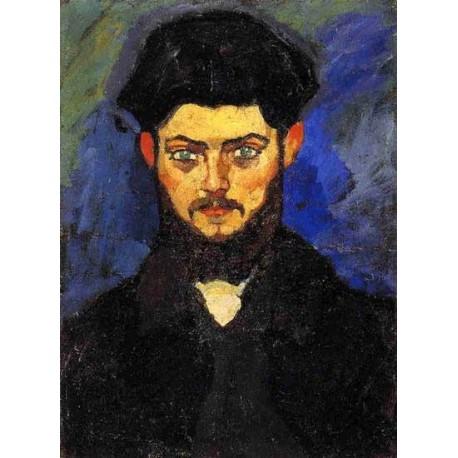 Maurice Drouard by Amedeo Modigliani