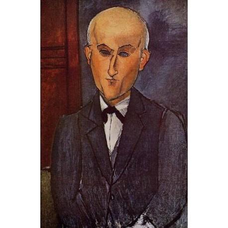 Max Jacob by Amedeo Modigliani