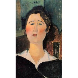 Minoutcha by Amedeo Modigliani oil painting art gallery