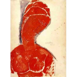 Nude Bust by Amedeo Modigliani oil painting art gallery