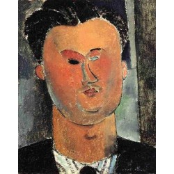 Pierre Reverdy by Amedeo Modigliani
