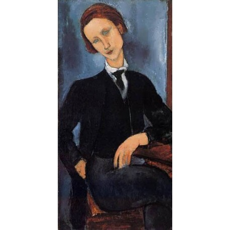 Pierre-Edouard Baranowski by Amedeo Modigliani