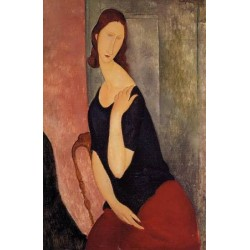 Portrait de Madame L by Amedeo Modigliani oil painting art gallery