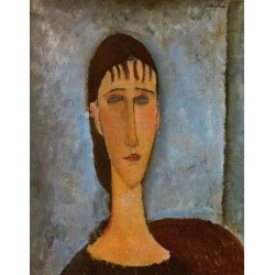 Portrait of a Young Girl by Amedeo Modigliani oil painting art gallery