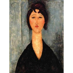 Portrait of a Young Woman by Amedeo Modigliani oil painting art gallery