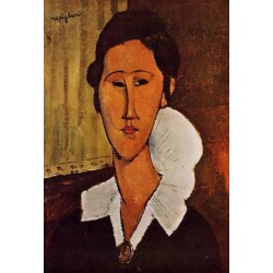 Portrait of Anna by Amedeo Modigliani oil painting art gallery