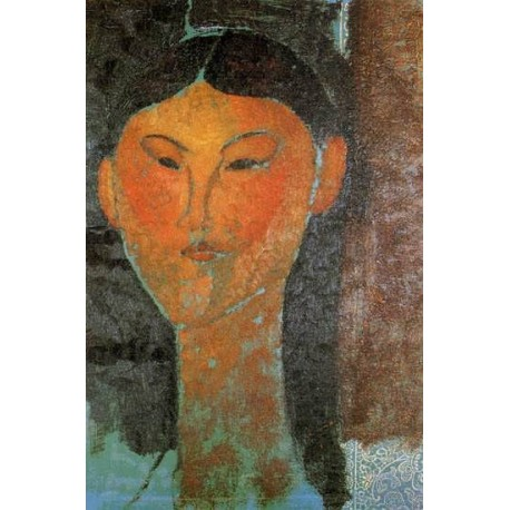 Portrait of Beatrice Hastings by Amedeo Modigliani