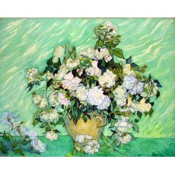 Roses by Vincent Van Gogh -Art gallery oil painting reproductions