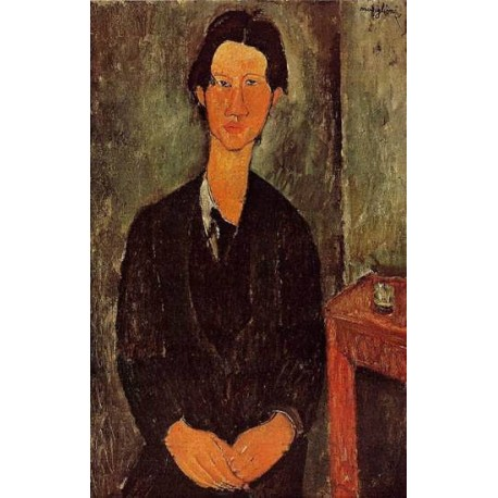 Portrait of Chaim Soutine by Amedeo Modigliani