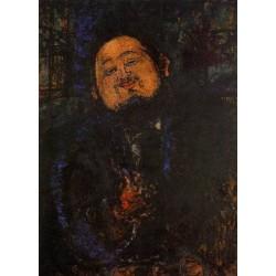 Portrait of Diego Rivera by Amedeo Modigliani