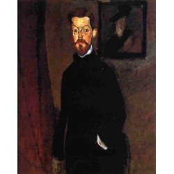 Portrait of Dr Paul Alexandre by Amedeo Modigliani