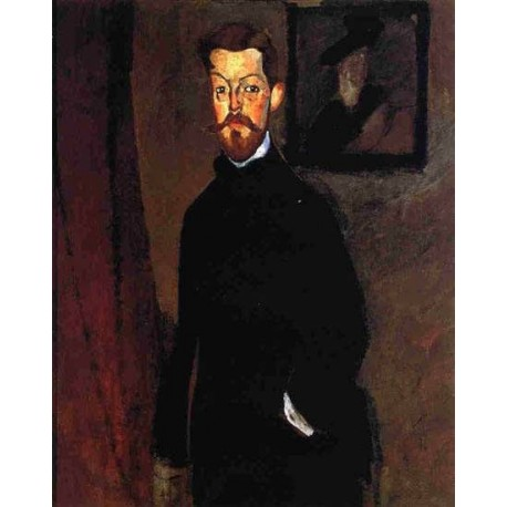 Portrait of Dr Paul Alexandre by Amedeo Modigliani