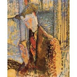 Portrait of Frank Burty Haviland by Amedeo Modigliani