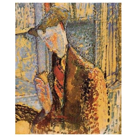 Portrait of Frank Burty Haviland by Amedeo Modigliani