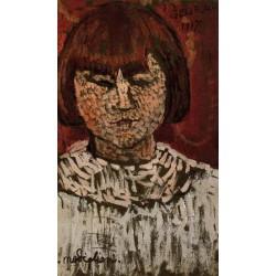Portrait of George Ortiz by Amedeo Modigliani