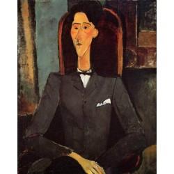Portrait of Jean Cocteau by Amedeo Modigliani