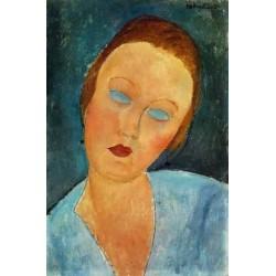 Portrait of Madame Survage by Amedeo Modigliani