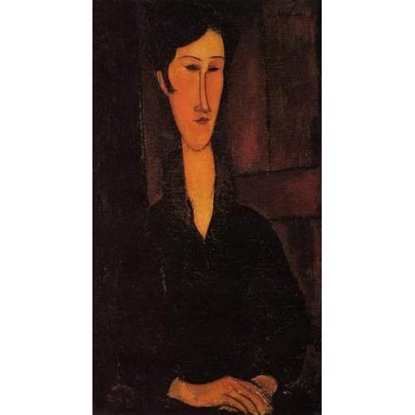 Portrait of Madame Zborowska by Amedeo Modigliani