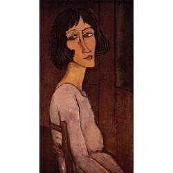 Portrait of Marguerite by Amedeo Modigliani