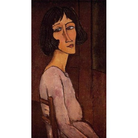Portrait of Marguerite by Amedeo Modigliani