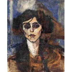 Portrait of Maude Abrantes by Amedeo Modigliani
