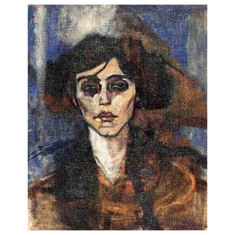 Portrait of Maude Abrantes by Amedeo Modigliani