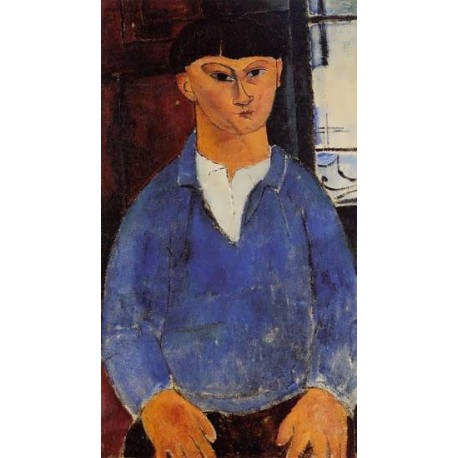 Portrait of Moise Kisling by Amedeo Modigliani