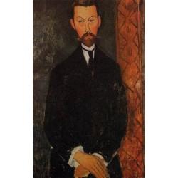 Portrait of Paul Alexander by Amedeo Modigliani
