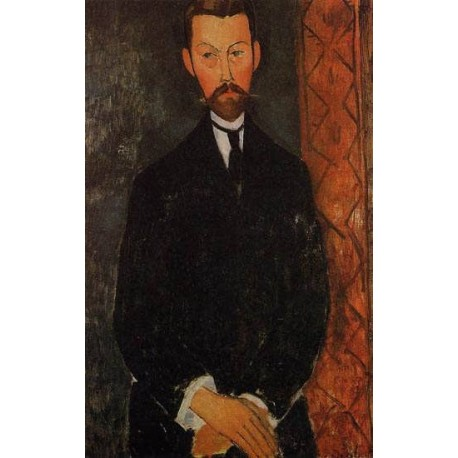 Portrait of Paul Alexander by Amedeo Modigliani