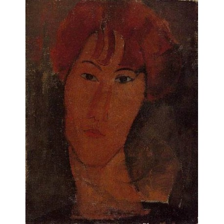 Portrait of Pardy by Amedeo Modigliani