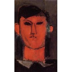 Portrait of Picasso by Amedeo Modigliani