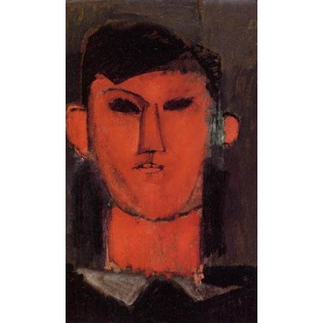 Portrait of Picasso by Amedeo Modigliani