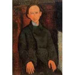 Portrait of Pinchus Kremenge by Amedeo Modigliani