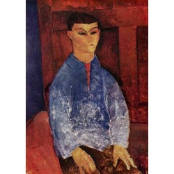 Portrait of the Painter Moise Kisling by Amedeo Modigliani