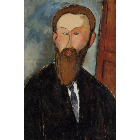 Portrait of the Photographer Dilewski by Amedeo Modigliani