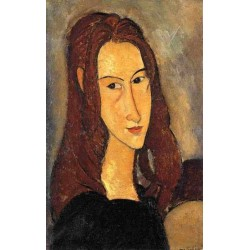 Red Haired Girl by Amedeo Modigliani